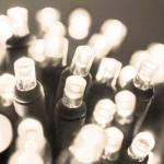100 Led με Θερμό Λευκό Φωτισμό Χριστουγεννιάτικα Φωτάκια Σε Επεκτεινόμενο  6μ Καλώδιο 5W