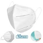 10τμχ Πολυστρωματική Μάσκα μίας Χρήσης KN95 - FFP2 με Αποτελεσματικό Φίλτρο Υψηλής Προστασίας