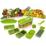 1 SEC SLICER Ανοξείδωτος Πολυκόφτης Φρούτων και Λαχανικών