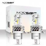 2x Λαμπτήρες LED H4 10000LM (2x5000lm) 6000K 40W (2x20w) IP68 A500 N35 NOVSIGHT Λάμπες Αυτοκινήτου 12V