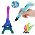3D Pen Στυλό Τρισδιάστατης Ζωγραφικής Γλυπτικής - 3D Printer Pen  - Κατάλληλο και για Παιδιά