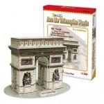 """3D Puzzle CubicFun """" Arc De Triomphe Paris"""" με 26 Κομμάτια"""