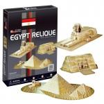 """3D Puzzle CubicFun """"EGYPT RELIQUE"""" με 38 Κομμάτια"""