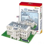 "3D Puzzle CubicFun ""The White House"" με 64 Κομμάτια"