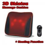 3D Shiatsu Massage Heating Cushion - Συσκευή Μασάζ Λαιμού, Αυχένα, Πλάτης