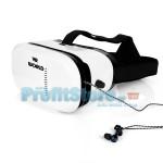 3D Γυαλιά Εικονικής Πραγματικότητας VRWORLD για smartphones 4.7