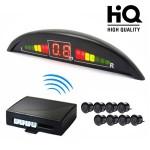 8 Αισθητήρες Παρκαρίσματος Υψηλής Ευαισθησίας με Ψηφιακή Οθόνη LED - Parking Sensors
