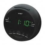 AM/FM Ραδιόφωνο Ρολόι Ξυπνητήρι LED με Μπαταρία - Clock Radio Alarm