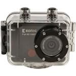 Action Κάμερα Full HD 1080p 12MP με Αδιάβροχο Περίβλημα KONIG CSAC 300