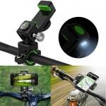 Action Βάση Κινητού με Φωτισμό LED & Πυξίδα για Μηχανή, Ποδήλατο