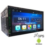 "Android GPS Ηχοσύστημα Multimedia DVD Οθόνη Αφής 7"" 2 Din TFT Αυτοκινήτου - με Ελληνικό Μενού, Play Store, Maps, Bluetooth, Handsfree, MP3, USB, SD"