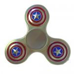 Anti Stress Fidget Spinner - Αγχολυτικό Παιχνίδι  Ανακούφισης Στρες - Captain America