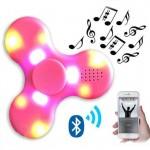 Anti Stress Fidget Spinner με Led και Bluetooth Rainbow 3 - Αγχολυτικό Παιχνίδι