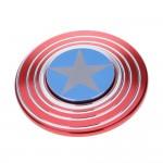 Anti Stress Fidget Spinner - Αγχολυτικό Παιχνίδι  - Captain America Shield