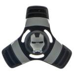Anti Stress Fidget Spinner - Metallic Iron Man Three Leaves