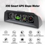 Οθόνη Κλισιόμετρο HD GPS Αυτοκινήτου HUD με Ταχύμετρο, Κλίση Οχήματος, Υψομετρητή, Πυξίδα, Βολτόμετρο PMH KMH LCD