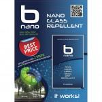 B NANΟ-SKIN για Ασφαλή Οδήγηση στην Βροχή χωρίς Υαλοκαθαριστήρες