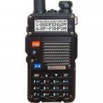 Baofeng 8W Φορητός Dual Band Ασύρματος Πομποδέκτης VHF UHF Semi Duplex με Μεγάλη Μπαταρία, 128 Κανάλια & Ακουστικό