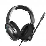 Baseus Ενσύρματα Ακουστικά Κεφαλής με USB & Μικρόφωνο για Παιχνίδια - Gaming Wired Headphones 3D Gamo Black