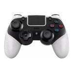 Bluetooth Gamepad Ασύρματο Χειριστήριο Παιχνιδιών για PS4, Nintendo Switch, Android iOS Κινητά, Μαύρο/Λευκό -Wireless Handle Gamepad OEM