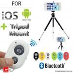 Bluetooth Remote Shutter και Βάση/Τρίποδο για Φωτογραφίες Selfies