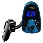 Bluetooth USB MP3 Player με Μικρόφωνo, CVC & Φορτιστής  Car FM Transmitter Andowl Q-B68