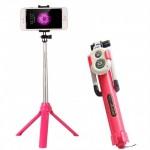 Bluetooth Wireless Πτυσσόμενο Μπαστούνι Κάμερας & Τρίποδο για selfie Φωτογραφίες