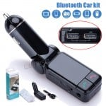 Πομπός Bluetooth USB, AUX In, MP3 Player & Φορτιστής 2 x USB 2.1A Αυτοκινήτου - Car FM Transmitter