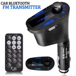 Πομπός Αυτοκινήτου USB/AUX/SD MP3 Player & Φορτιστής USB με LCD Οθόνη - Car FM Transmitter