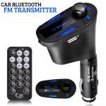 Bluetooth Πομπός Αυτοκινήτου USB/AUX/SD MP3 Player & Φορτιστής USB με LCD Οθόνη - Car FM Transmitter