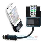 Car MP3 Player FM Transmitter και βάση φόρτισης αυτοκινήτου για iPhone 4, 4S