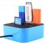 Card Reader και USB Hub Combo 2in1