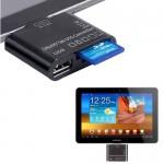 Card Reader και USB για Samsung Tablets