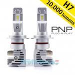 Compact PNP LED Λάμπες Αυτοκινήτου H7 50W (2x25W) 10000Lm (2x5000lm) 6500K - Λαμπτήρες Πορείας Car LED Headlights