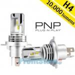 Compact PNP LED Λάμπες Αυτοκινήτου H4 50W (2x25W) 10000Lm (2x5000lm) 6500K - Λαμπτήρες Πορείας Car LED Headlights