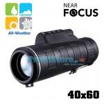 Compact Μονόκυαλο Near Focus 40x60 Helios Day & Night WeatherProof