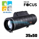 Compact Μονόκυαλο Near Focus 35x50 Helios Day & Night WeatherProof