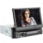 DVD Multimedia Ηχοσύστημα Bluetooth Αυτοκινήτου 1 DIN με TFT Οθόνη Αφής 7in Handsfree MP3/USB/SD/AUX/MIC με Xειριστήριο & Θύρα Κάμερας Οπισθοπορείας