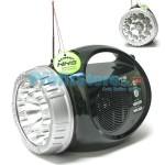 Digital Music Player - Recorder USB/SDcard - FM Radio & Φακός LED NNS NS-065U-REC