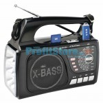 Digital USB/SD Music Player, FM Radio, Φακός LED EPE-FP1336U