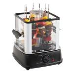 Domoclip Ηλεκτρική Κάθετη Ψησταριά - Barbeque 800W σε Μαύρο Χρώμα DOC154