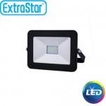 Extra Slim Προβολέας LED 20W Ψυχρό Λευκό- Αδιάβροχος IP65 Υψηλής Απόδοσης - 80% οικονομία ExtraStar 90317