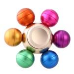 Fidget Spinner Αλουμινίου - Αγχολυτικό Παιχνίδι Ανακούφισης Στρές με 6 Μπάλες