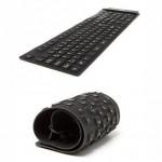 Εύκαμπτο Πληκτρολόγιο Σιλικόνης Flexible Bluetooth Keyboard