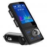 Bluetooth Fm Transmitter Αναμεταδοτής Κινητού στα Ηχεία Αυτοκινήτου & Φορτιστής με 2 USB Θύρες
