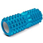 Foam Roller - Κύλινδρος Μασάζ, Αποκατάστασης, Διάτασης Μυών & Ισορροπίας 32,5cm - Deep Muscle Tissue Massage Cilindro Γαλάζιο