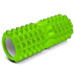 Foam Roller - Κύλινδρος Μασάζ, Αποκατάστασης, Διάτασης Μυών & Ισορροπίας 32,5cm - Deep Muscle Tissue Massage Cilindro Λαχανί - Πράσινο