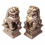 Fu Dogs - Λέοντες Προστασίας 10x4x6cm