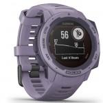 Garmin Ρολόι Instinct Solar Orchid GPS - Αθλητικό Smartwatch Activity Tracker