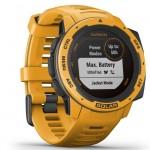 Garmin Ρολόι Instinct Solar Sunburst GPS - Αθλητικό Smartwatch Activity Tracker